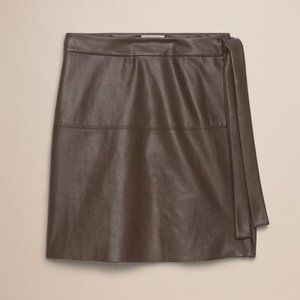 NEW Wilfred Free Spurlock Skirt Wrap Mini Skirt